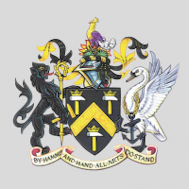 Worshipful Company of Blacksmiths Crest
