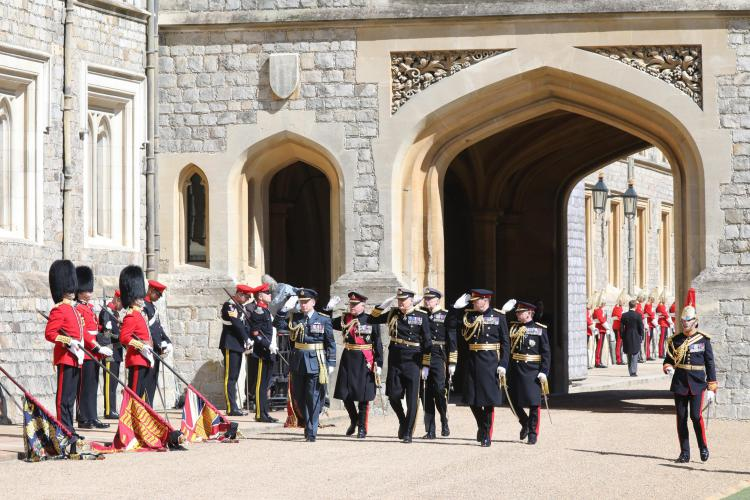 Funeral of HRH Prince Philip, The Duke of Edinburgh